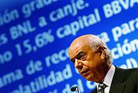 Francisco González, presidente del BBVA, en la junta de accionistas del pasado mes de junio. (Foto:REUTERS)