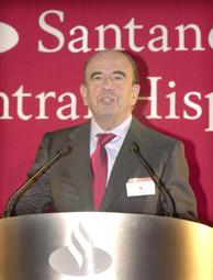 El presidente del SCH, Emilio Botín. (Foto: EFE).