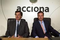 José Manuel(Izq) y Juan Ignacio Entrecanales(Dcha), presidente y vicepresidente de Acciona. (Foto:JULIÁN JAÉN)