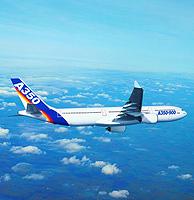 El A350 empezará a volar en el año 2010.