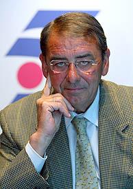Alejandro Echevarría, presidente de Telecinco. (Foto: CARLOS BARAJAS)