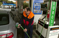 Los carburantes han tocado máximos históricos en 2005. (Foto: Iñaki Andrés)
