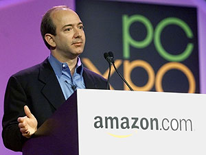 Jeff Bezos, fundador de Amazon. (Foto:REUTERS)