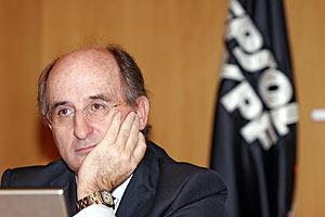 El presidente de Repsol YPF, Antoni Brufau. (Foto: JAVI MARTÍNEZ)