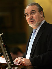 Pedro Solbes, ministro de Economía. (Foto:EFE)