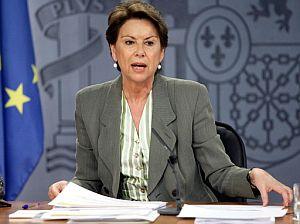 La ministra de Fomento, Magdalena Álvarez. (Foto: EFE)
