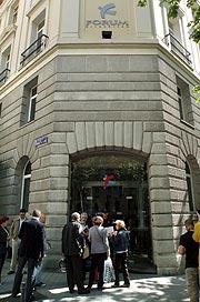 Sede de Fórum Filatélico en Madrid. (Foto: EFE)