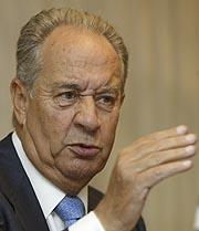 El presidente de OHL, Villar Mir. (Foto: Julián Jaén)