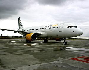 Un Airbus 320 de Vueling. (Foto: EL MUNDO)