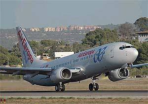Un Boeing 737-800 de la compañía despega. (Foto: Air Europa)