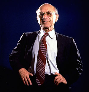 Milton Friedman en una imagen de 1977. (Foto: AP)