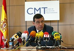 Reinaldo Rodríguez, presidente de la Comisión del Mercado de Telecomunicaciones. (Foto: U. D.)