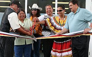 Indígenas seminolas en una inauguración el pasado mes de octubre. (Foto: www.seminoletribe.com)