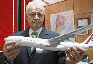 El presidente de Air Madrid, José Luis Carrillo. (Foto: EFE)