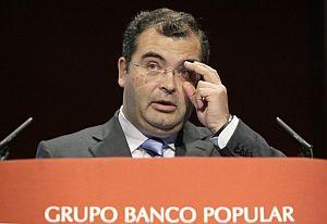 El presidente del Banco Popular, Ángel Ron. (Foto: EFE)
