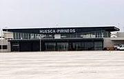 Terminal del aeropuerto Huesca-Pirineos. (AENA)