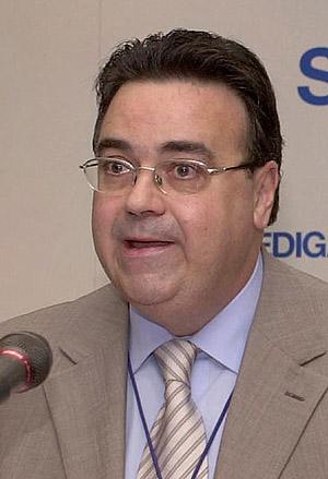 El nuevo presidente de Engás, Antoni Llardén. (Foto: EFE)