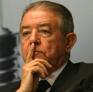 Salvador Gabarró, presidente de Gas Natural. (Quique García)
