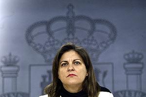 La ministra de Vivienda, Maria Antonia Trujillo. (Foto: Kike Para)
