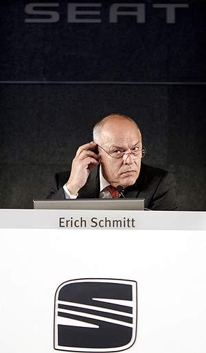 El presidente de Seat, Enich Schmitt. (Foto: EFE)