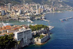 Vista aérea del Principado de Mónaco. (Foto: AP)