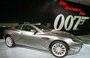 El Aston Martin V12 Vanquish de la película 'Muere otro día', de la saga de James Bond. (Foto: AP)