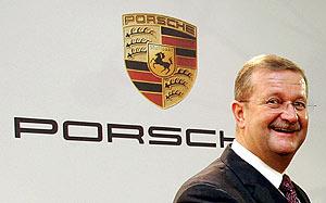 El presidente de Porsche, Wendelin Wiedeking. (Foto: AP)