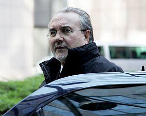 El ministro de Economía, Pedro Solbes, a su llegada a un encuentro de ministros de finanzas de la UE. (Foto: AFP)