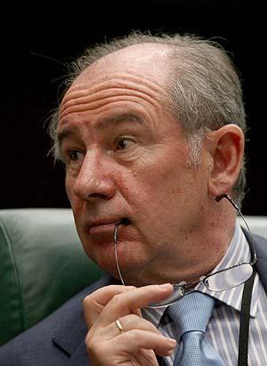 El director gerente del Fondo Monetario Internacional (FMI), Rodrigo Rato. (Foto: EFE)