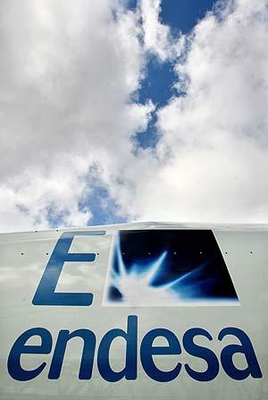 Vista del logo de Endesa. (Foto: AFP)