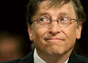 El presidente y fundador de Microsoft, Bill Gates. (Foto: AFP)