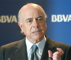 Francisco González, presidente del BBVA. (Foto: Javi Martínez)