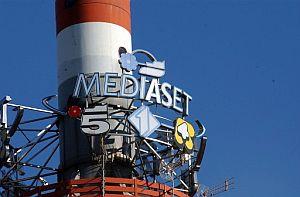 Vista de la sede de Mediaset en Milán. (Foto: AP)