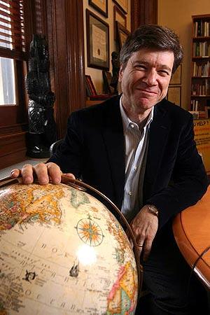 Jeffrey Sachs. (Foto: Miguel Rajmil)