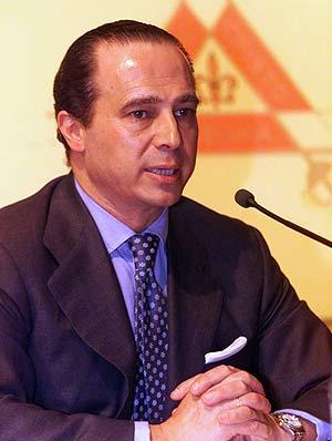 Antonio Vázquez, director general de Altadis. (Foto: A. Cuéllar)