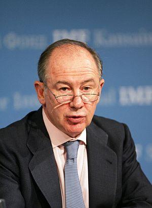 El director general del FMI, Rodrigo Rato. (Foto: AFP)