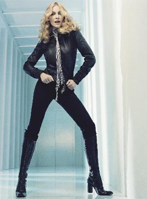 Madonna ha sido siempre imagen de la moda: una cantante reinventada durante tres décadas, actriz, escritora y, por ahora, diseñadora. (Foto: STEVEN KLEIN)