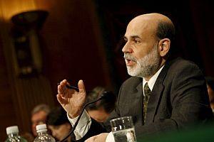 El presidente de la Reserva Federal de Estados Unidos, Ben Bernanke, en el Congreso. (Foto: EFE)