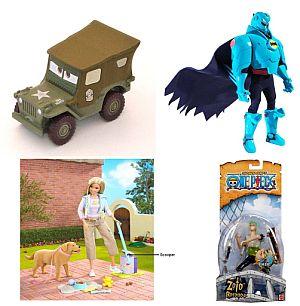 Alguno de los juguetes que serán retirados por Mattel. (Foto: AFP)