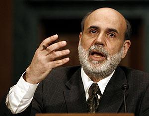 El presidente de la Reserva Federal, Ben Bernanke. (Foto: REUTERS)