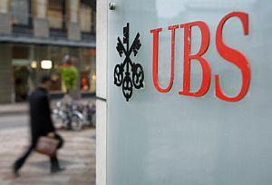El logo de una oficina del banco USB en Ginebra. (Foto: AFP)