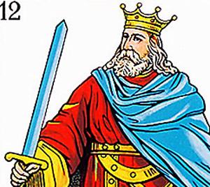 Heraclio Fournier no ha podido registrar al 'Rey de Espadas' con marca propia ante el Tribunal Europeo. (Foto: EL MUNDO)