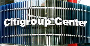 Logo de Citigroup, unas de las entidades participantes, en su torre de oficinas de Nueva York (FOTO: AFP)