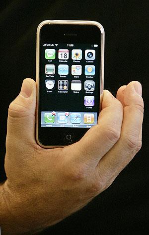 El iPhone. (Foto: AFP)