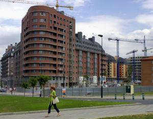 Construcción en Bilbao. (Foto: Carlos García)