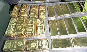 Lingotes de oro. (Foto: AP)