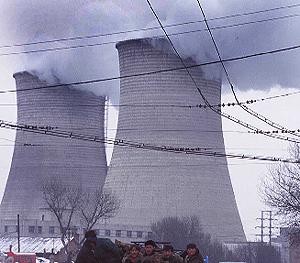 Central de carbón en Shenyiang , en la provincia de Liaoning. (Foto: Richard Jones)
