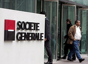 Foto de archivo del banco francés Société Générale. (Foto: EFE   Maya Vidon)