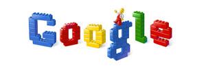 Homenaje de Google a Lego
