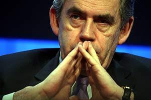 Gordon Brown, anfitrión de la reunión. (Foto: AFP)